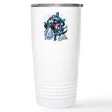 Captain America Avenger Travel Mug
