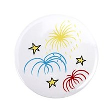 "Fireworks 3.5"" Button (100 pack)"
