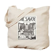Aubrey Beardsley Illustrated Cover Tote Bag