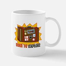 Born To Explore Mugs
