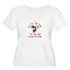 Aim For The Moon Plus Size T-Shirt