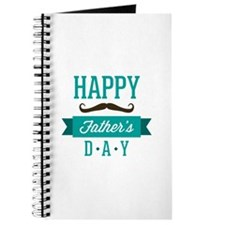 Happy father's day moustache Journal