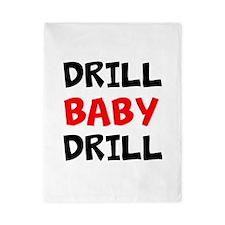 Drill Baby Drill Twin Duvet