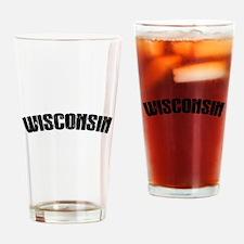 Wisconsin-01 Drinking Glass