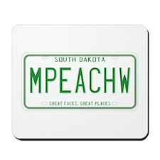 South Dakota MPEACHW Mousepad