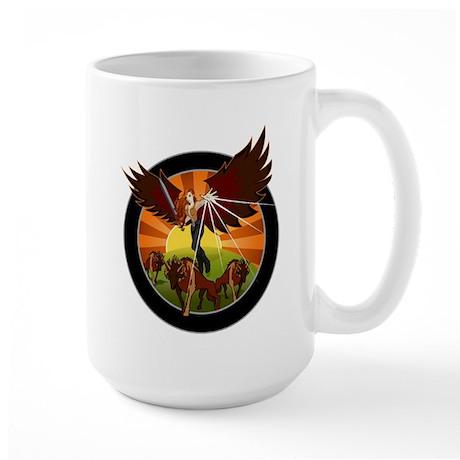 NROL-33 Program Large Mug