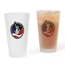 NROL-26 Program Logo Drinking Glass