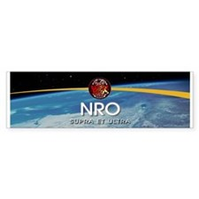 NROL-27 Launch Team Bumper Sticker