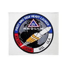 NROL-26 Launch Team Throw Blanket