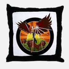 NROL-33 Program Throw Pillow