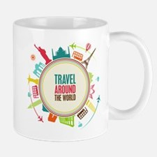 Travel around the world Mug