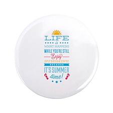 "Summer time 3.5"" Button"