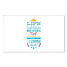 Summer time Decal