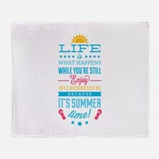 Summer time Stadium Blanket