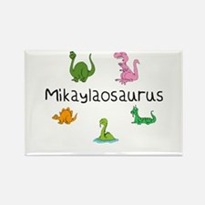 Mikaylaosaurus Rectangle Magnet