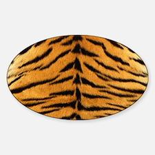 Tiger Fur Print Decal