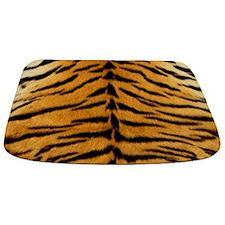 Tiger Fur Print Bathmat