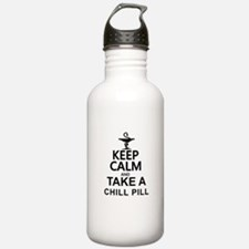 Keep Calm and Take a C Sports Water Bottle