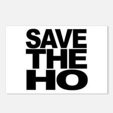 Save The Ho Postcards (Package of 8)