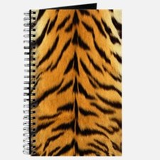 Tiger Fur Print Journal