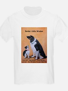 Border Collie Wisdom T-Shirt