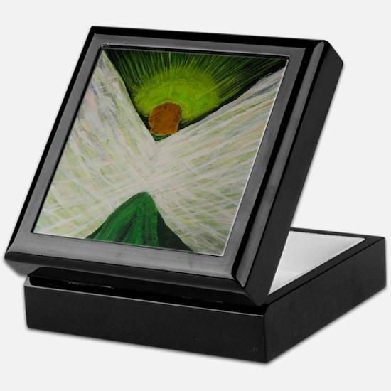 Green Angel Rahael Keepsake Box
