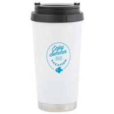 Enjoy summer! Travel Mug