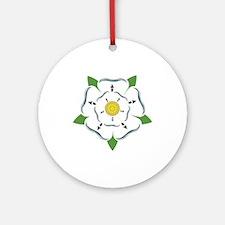 Heraldic Rose Ornament (Round)