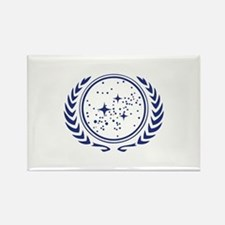 United Federation of Planets Blue Ornament Magnets