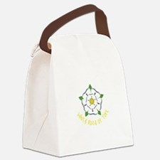 Rose Of York Canvas Lunch Bag