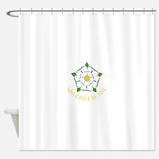 Rose Of York Shower Curtain