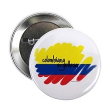 Colombiana Orgullosa Button