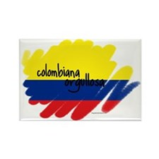 Colombiana Orgullosa Rectangle Magnet