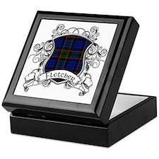 Fletcher Tartan Shield Keepsake Box