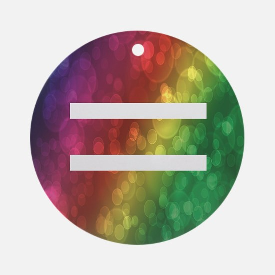 Equalrights1 Round Ornament