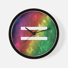 Equalrights1 Wall Clock