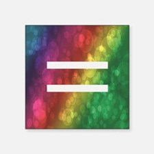 "Equalrights1 Square Sticker 3"" x 3"""