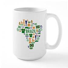Brazil worl cup Mug