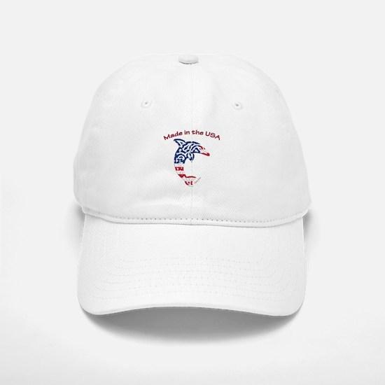 Made in the USA Tribal Dolphin Baseball Baseball Baseball Cap