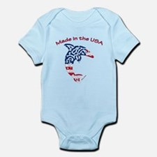 Made in the USA Tribal Dolphin Body Suit