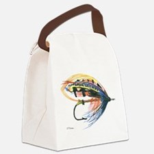 Fly2.png Canvas Lunch Bag