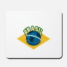 Brazil worl cup Mousepad