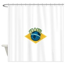 Brazil worl cup Shower Curtain