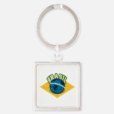 Brazil worl cup Square Keychain