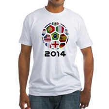World Cup 2014 Soccer Ball (Football) T-Shirt
