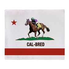 Cal-Bred Brand Throw Blanket