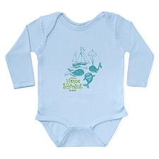 Unique Home schooling Long Sleeve Infant Bodysuit