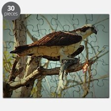 Osprey Having Lunch Puzzle