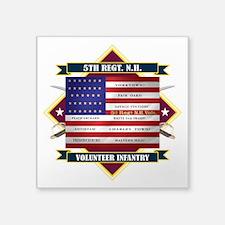5th New Hampshire Volunteer Infantry Sticker