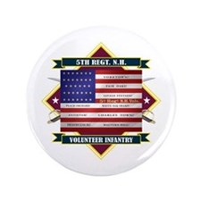 """5th New Hampshire Volunteer Infantry 3.5"""" Button"""